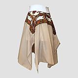 Sukne - Upcyklovaná Babičkina kruhová sukňa 2 - 11896670_
