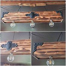 Svietidlá a sviečky - Luster hranol 3 - 120cm - 11894117_