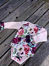 Detské oblečenie - Romantické body c 86 - 11895987_