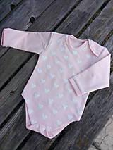 Detské oblečenie - Cukrikovo ružové č 86 - 11896053_
