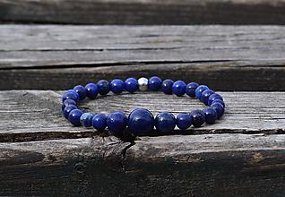 Náramky - Náramok Lapis Lazuli - 11892997_