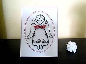 Papiernictvo - Pohľadnica - anjelik - 11891939_