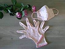 - Set - rukavice a rúško s antibakteriálnou úpravou - 11891962_