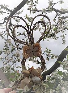 Dekorácie - Závesná dekorácia - zajačik ušiačik - 11901415_