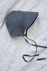 Detské čiapky - Detský čepček tmavo modrý - 11898712_