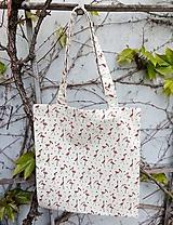 Nákupné tašky - Režná taška PLAMEŇÁCI - 11898358_