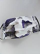 Rúška - Detské motýľové 17 x 14 - 11898086_