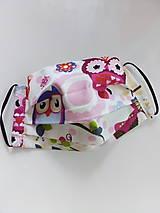 Rúška - Detské rúško 17 x 14 cm - 11898093_