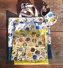 Úžitkový textil - Jabĺčková ekosada - 11901198_