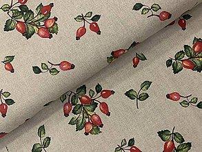 Textil - Bavlna dekor ❤️krásne šípky ❤️TALIANSKO ❤️ - 11897044_