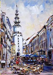 Obrazy - Bratislava - Michalská veža - 11896784_