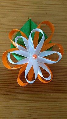 Pierka - Svadobné pierko kvet - 11901313_