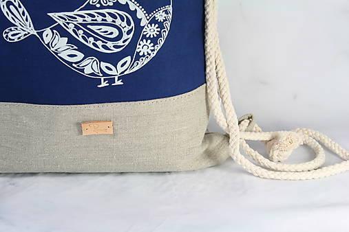 modrotlačový batoh Lesana VTÁČIK AM NATUR