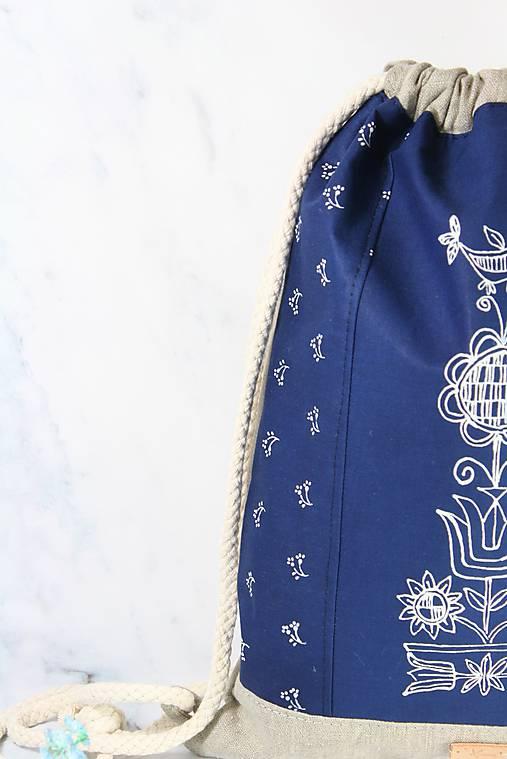 modrotlačový batoh Lesana ZÁHORIE AM NATUR