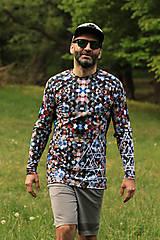 Tričká - MOSAIC- termo tričko pánske - 11899066_