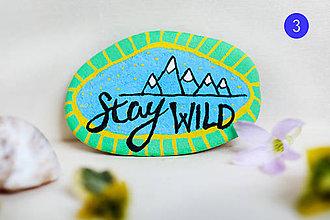 Dekorácie - Stay wild - 11899375_