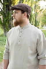 Oblečenie - Ľanová košeľa Mojmír prírodná - 11904350_