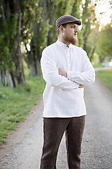 Oblečenie - Košuľka Mojmír biela - 11904363_