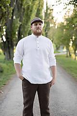 Oblečenie - Košuľka Mojmír biela - 11904364_
