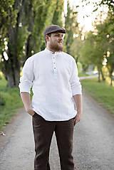 Oblečenie - Košuľka Mojmír biela - 11904365_