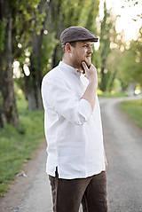 Oblečenie - Košuľka Mojmír biela - 11904366_