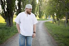 Výletná košeľa biela alebo prírodná