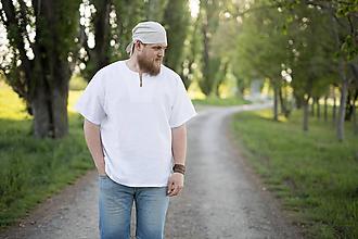 Oblečenie - Výletná košeľa biela alebo prírodná - 11904399_