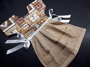 Úžitkový textil - Dekoračný uterák - 11905769_