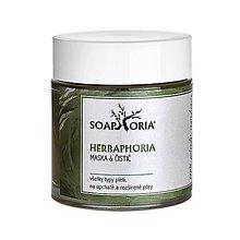 Drogéria - Herbaphoria - pleťová maska & čistič - 11903323_