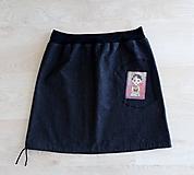 Sukne - Jeansová sukně FRIDA s kapsou - 11903649_