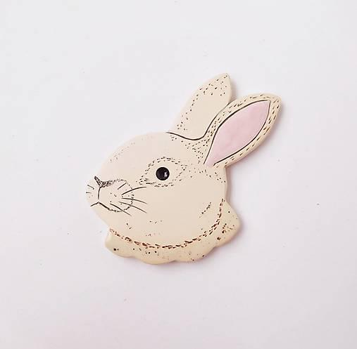 brošňa králik