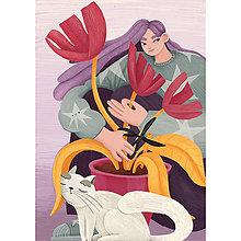 Grafika - Cat Lady 3 - 11906322_