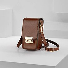 Kabelky - Malá/mini kožená kabelka AMAHA - 11905930_