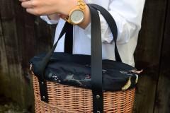 Kabelky - Prútená kabelka do ruky N°9 - 11903289_