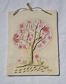 Obrázky - Keramický obrázok - strom - 11902721_