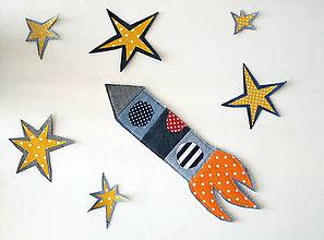 Detské doplnky - Raketa - 11908982_