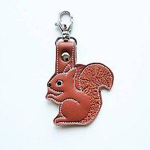 Kľúčenky - Prívesok veverička 2 - 11908193_