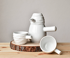 """Nádoby - Porcelánová čajová souprava """"Pro-svítání"""" - 11910798_"""