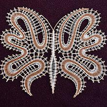Dekorácie - Motýľ (obraz) - 11909488_