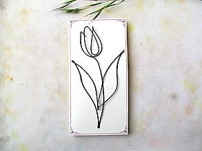 Iné - tulipán - pohľadnica - 11907084_