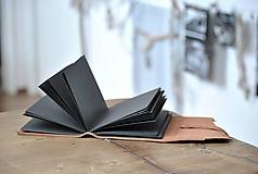 Papiernictvo - kožený zápisník DAVEN - 11913556_