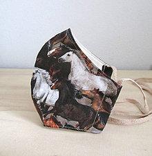 Rúška - tvarované rúško pre milovníka koní - 11913435_