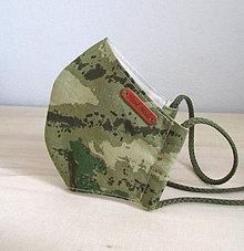 Rúška - pánske rúško army II. - 11913745_