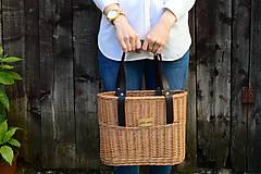 Kabelky - Prútená kabelka do ruky N°10 - 11912258_
