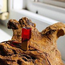 Náhrdelníky - mini red - 11911427_