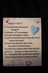 Drobnosti - Môjmu synovi - 11914214_
