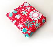 Textil - Minky s kvetmi - 11911921_