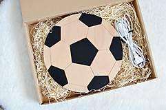 Detské doplnky - Detská lampa - Futbalová lopta - 11914925_