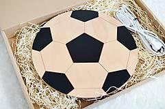 Detské doplnky - Detská lampa - Futbalová lopta - 11914926_