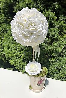 Dekorácie - Kvetinová dekorácia - 11917267_